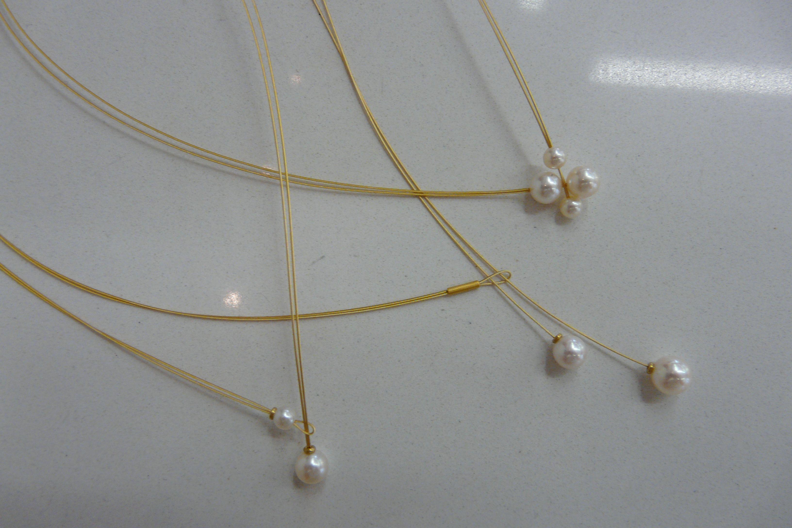 Brautschmuck gold perlen  Trendjuwelier Charisma in Würzburg