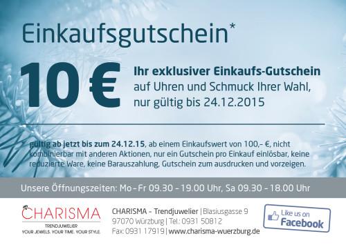 Charisma-Gutschein-Winter